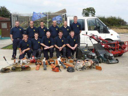 Gardening team (Betel UK)